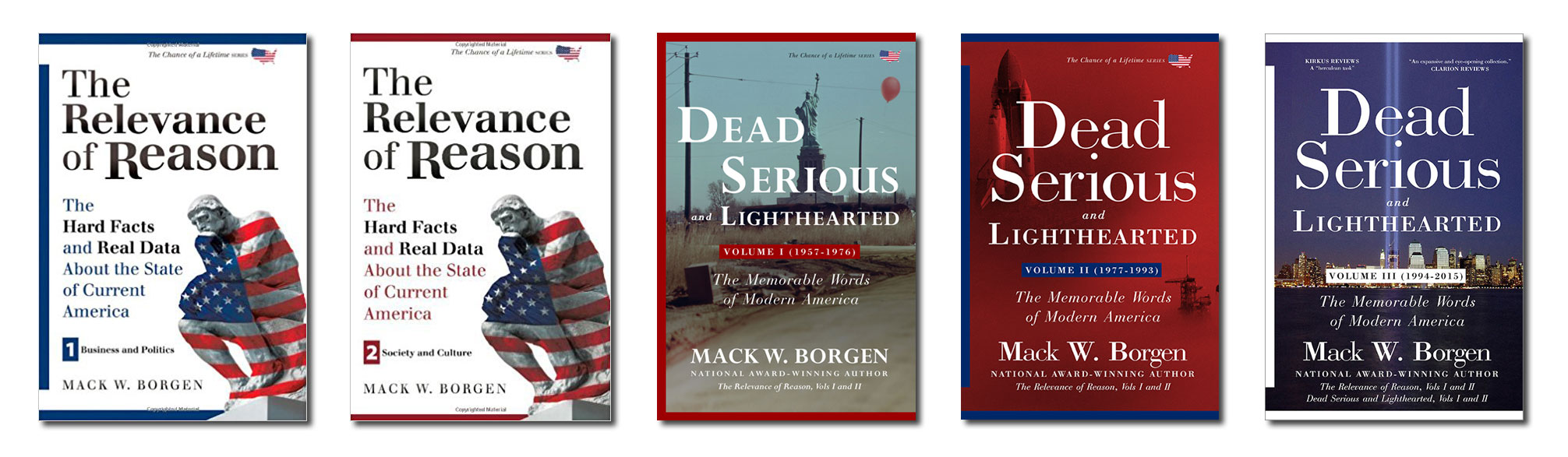Mack Borgen's book series