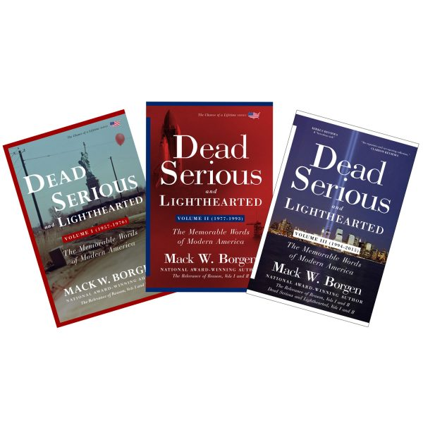 Dead Serious and Lighthearted Book Series